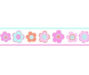 Бордюр XXL Vintage Flowers 158712