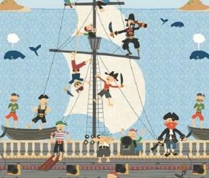 Mural Ahoy Matey KJ50900M