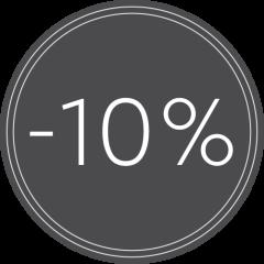 Seinälistat -10%