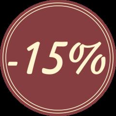 Jaanipäev -15%