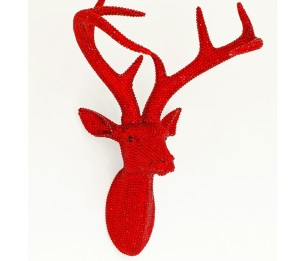 Star Studded Stag Ruby скульптура 008220