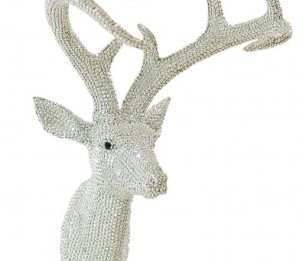 Star Studded Stag Silver skulptuur 008172