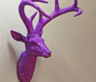 Star Studded Stag Ultra Violet скульптура 008219