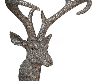 Star Studded Stag Pewter скульптура 008217