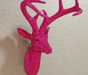 Star Studded Stag Hot Pink скульптура 008214