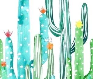 Фотообои XL Cactus Painting 158829