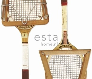 Wallpaper XXL Vintage Rackets 158801