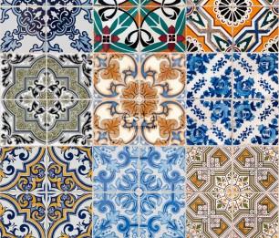 Tapeet XXL Spanish Tiles 158603