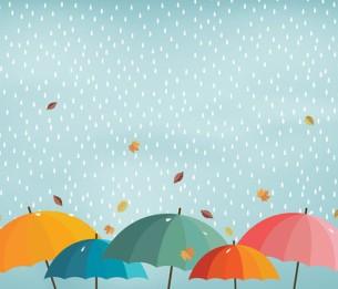 Pilttapeet Colorful Umbrellas 2035-001