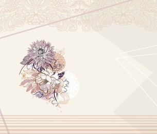 Pilttapeet The Lace and Flowers 2056-001