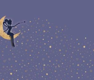 Pilttapeet Fairy´s Stars 2058-001