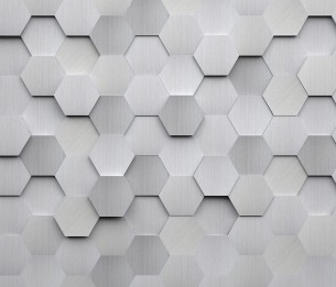 Metal Hexagons WALS0254