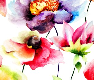 Watercolour Flora WALS0025