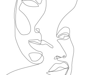 Fototapeet XL Faces 158936