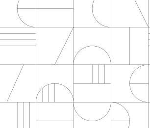 Fototapeet XL Art deco Grid 158938