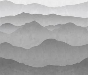 Fototapeet XL Gradient Mountains 158939
