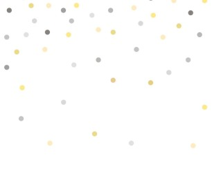 Фотообои XL Dots yellow 158930